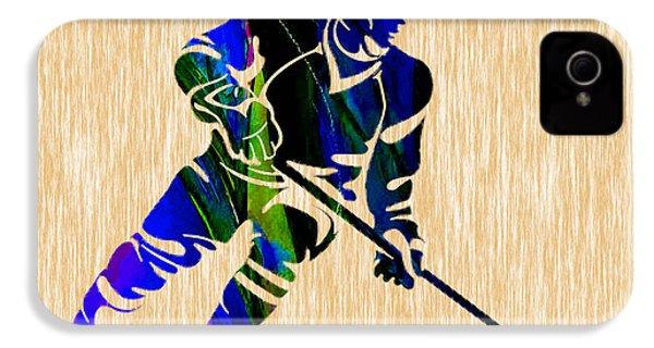Hockey IPhone 4 Case by Marvin Blaine