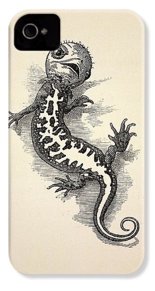 1863 Kingsley Waterbabies Human Newt IPhone 4 Case