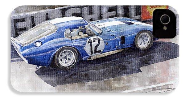 1965 Le Mans  Daytona Cobra Coupe  IPhone 4 Case by Yuriy Shevchuk
