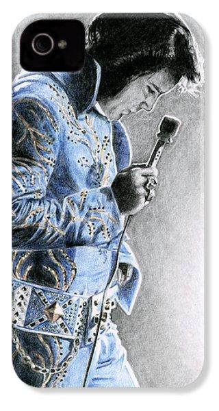 1972 Light Blue Wheat Suit IPhone 4 Case