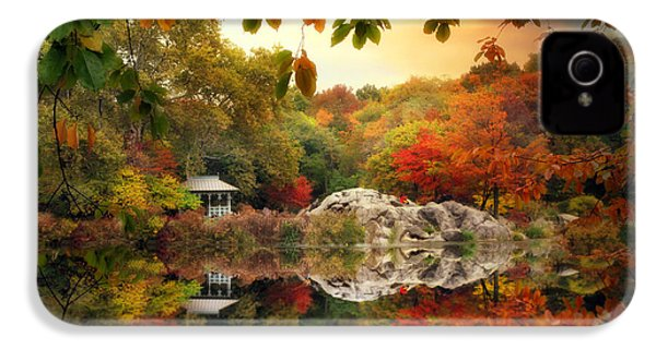 Autumn At Hernshead IPhone 4 Case by Jessica Jenney