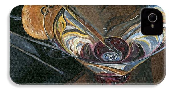 Chocolate Martini IPhone 4 Case by Debbie DeWitt