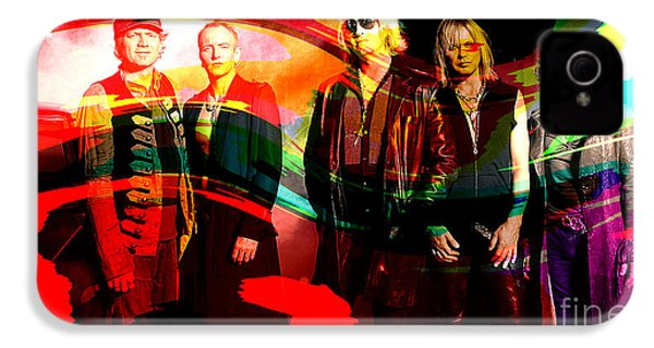 Def Leppard IPhone 4 Case by Marvin Blaine