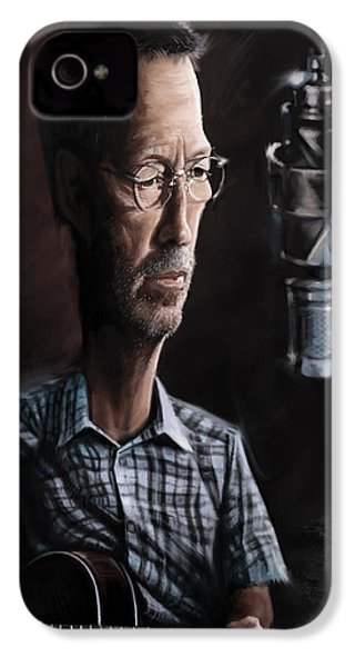 Eric Clapton IPhone 4 Case by Andre Koekemoer