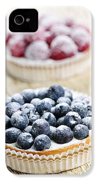 Fruit Tarts IPhone 4 / 4s Case by Elena Elisseeva