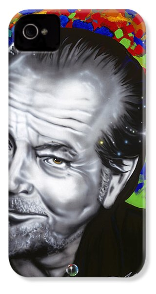 Jack IPhone 4 / 4s Case by Alicia Hayes