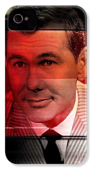 Johnny Carson IPhone 4 Case by Marvin Blaine