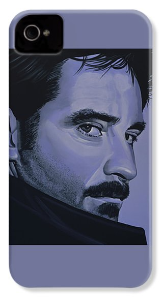 Kevin Kline IPhone 4 / 4s Case by Paul Meijering