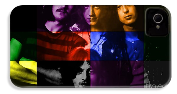 Led Zeppelin IPhone 4 / 4s Case by Marvin Blaine