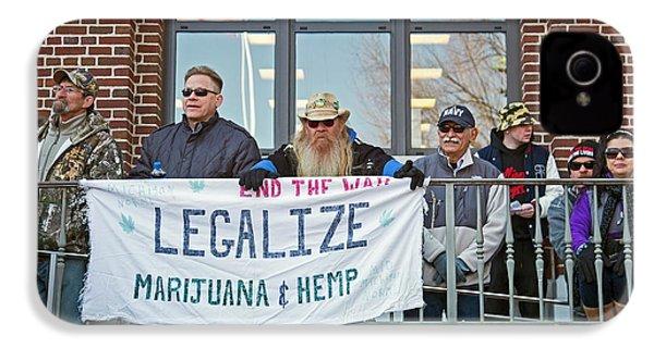 Legalisation Of Marijuana Rally IPhone 4 Case