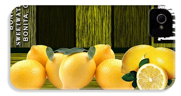 Lemon Farm IPhone 4 / 4s Case by Marvin Blaine