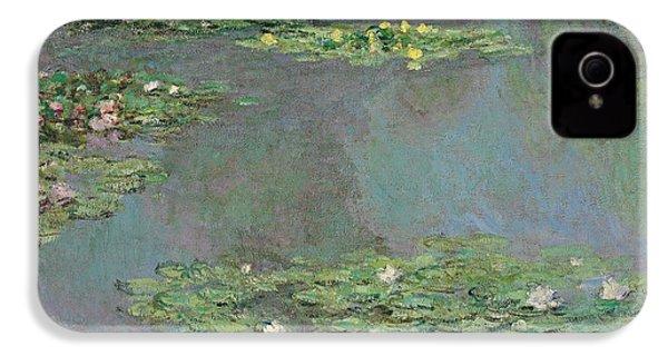 Nympheas IPhone 4 Case by Claude Monet