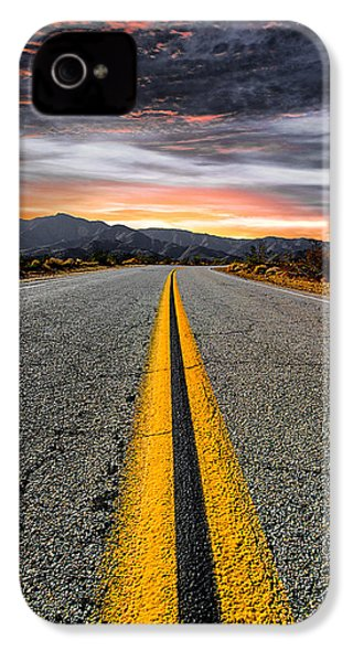 On Our Way  IPhone 4 Case by Ryan Weddle