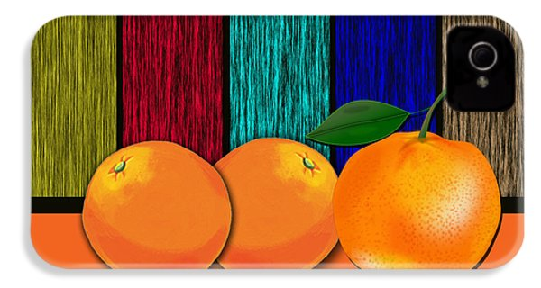 Oranges IPhone 4 / 4s Case by Marvin Blaine