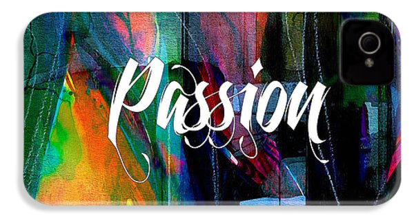 Passion Wall Art IPhone 4 / 4s Case by Marvin Blaine