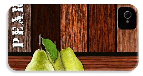 Pear Farm IPhone 4 / 4s Case by Marvin Blaine