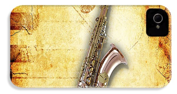 Saxophone Collection IPhone 4 Case by Marvin Blaine