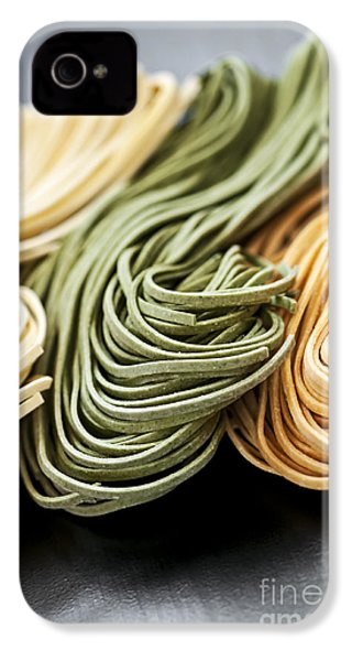 Tagliolini Pasta IPhone 4 Case by Elena Elisseeva