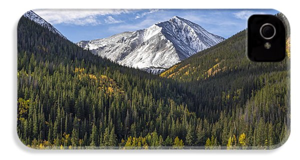 Torreys Peak  IPhone 4 Case by Aaron Spong