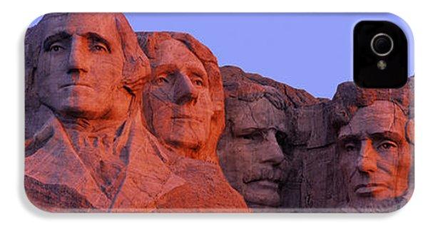 Usa, South Dakota, Mount Rushmore IPhone 4 Case by Panoramic Images