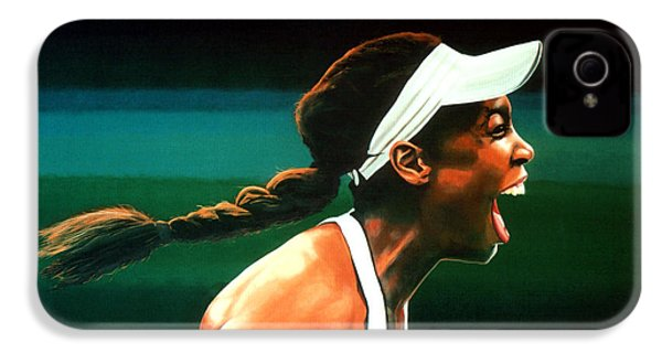 Venus Williams IPhone 4 Case by Paul Meijering