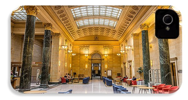 Walter Library IPhone 4 Case by Le Phuoc