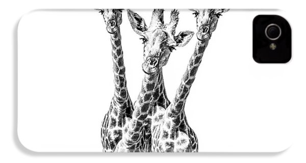 What Are You Looking At?  IPhone 4 Case by Diane Diederich