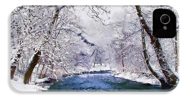 Winter White IPhone 4 Case by Jessica Jenney