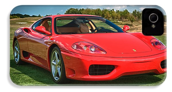 2001 Ferrari 360 Modena IPhone 4 Case by Sebastian Musial