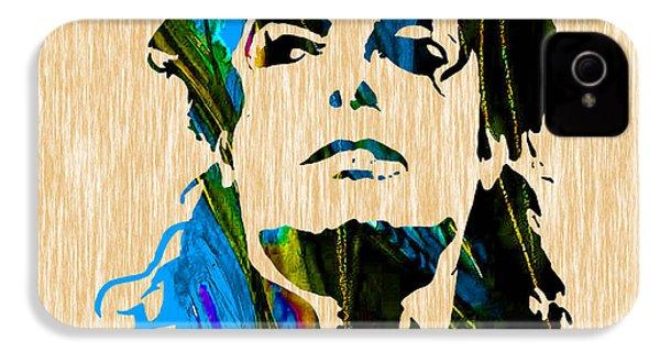 Michael Jackson IPhone 4 / 4s Case by Marvin Blaine