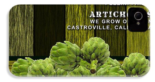 Artichokes Farm IPhone 4 Case