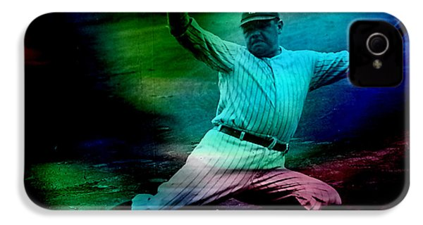 Babe Ruth IPhone 4 Case by Marvin Blaine