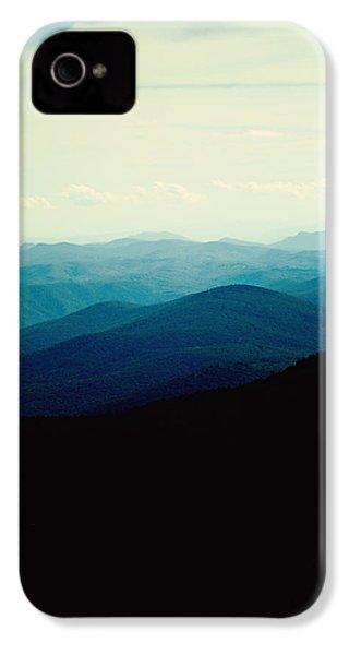 Blue Ridge Mountains IPhone 4 Case by Kim Fearheiley