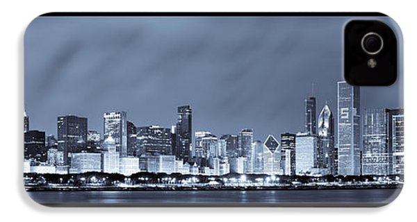 Chicago Skyline At Night IPhone 4 Case