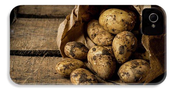 Fresh Potatoes IPhone 4 / 4s Case by Aberration Films Ltd