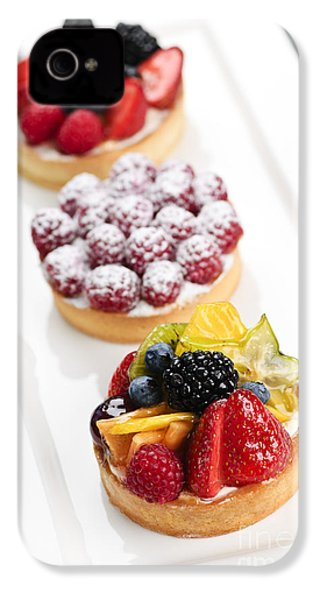 Fruit Tarts IPhone 4 Case