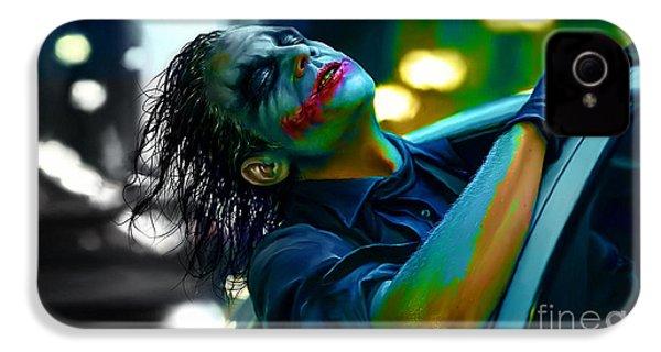 Heath Ledger IPhone 4 Case by Marvin Blaine