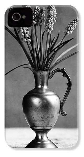 Hyacinth Still Life IPhone 4 / 4s Case by Nailia Schwarz