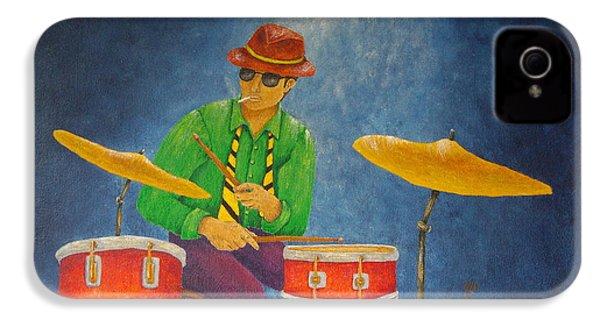 Jazz Drummer IPhone 4 Case