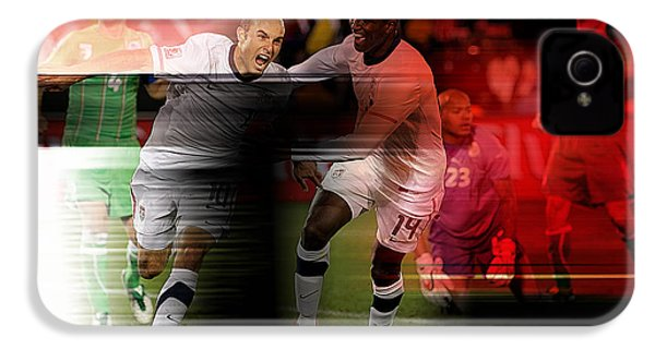 Landon Donovan IPhone 4 Case by Marvin Blaine