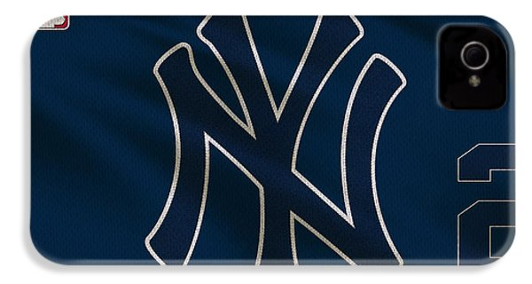New York Yankees Derek Jeter IPhone 4 / 4s Case by Joe Hamilton