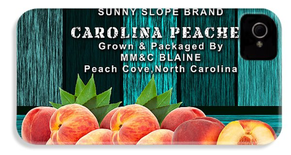 Peach Farm IPhone 4 / 4s Case by Marvin Blaine
