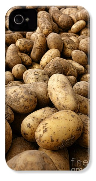 Potatoes IPhone 4 Case by Olivier Le Queinec