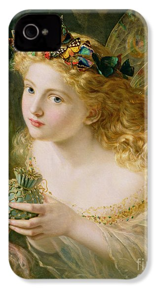 Take The Fair Face Of Woman IPhone 4 Case by Sophie Anderson
