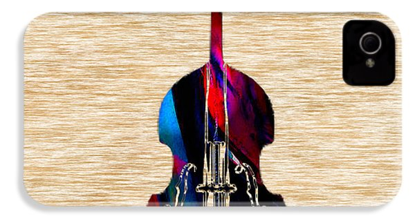 Upright Bass IPhone 4 Case