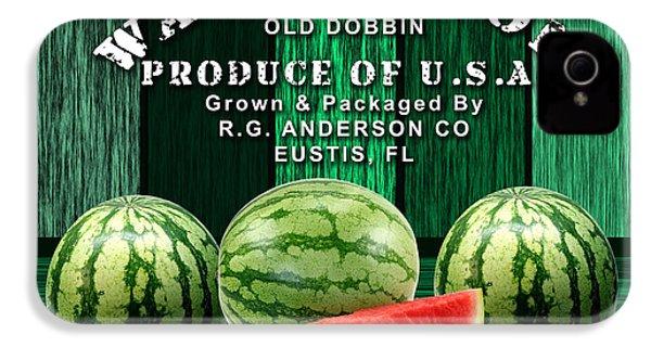 Watermelon Farm IPhone 4 Case