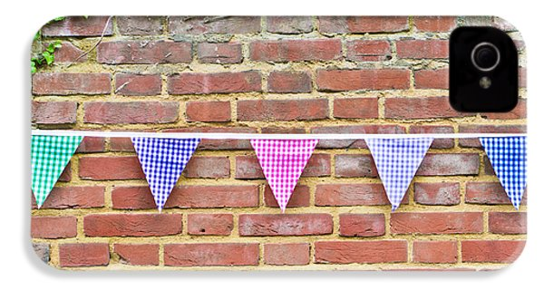 Bunting IPhone 4 Case by Tom Gowanlock