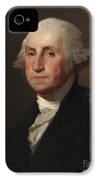 George Washington IPhone 4 / 4s Case by Gilbert Stuart