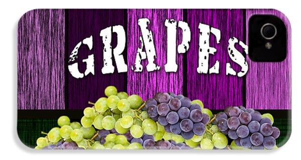 Grape Farm IPhone 4 Case by Marvin Blaine
