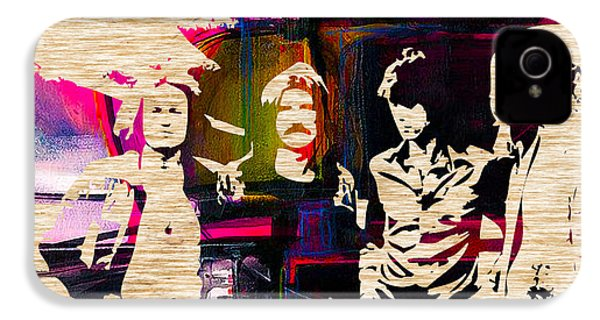 Led Zeppelin IPhone 4 Case by Marvin Blaine